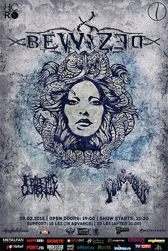 Bewized [GR] | Walk The Abyss [RO] | Epileptic Outbreak [RO] Concert